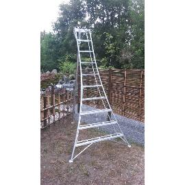 Japanese tripod ladder PRO 307 cm reinforced at EN131 standard